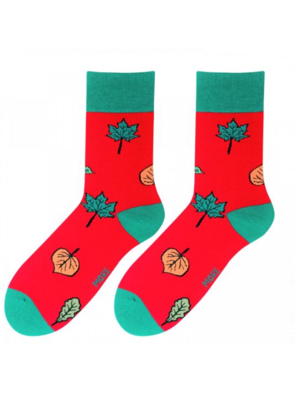 Ponožky More Autumn červené