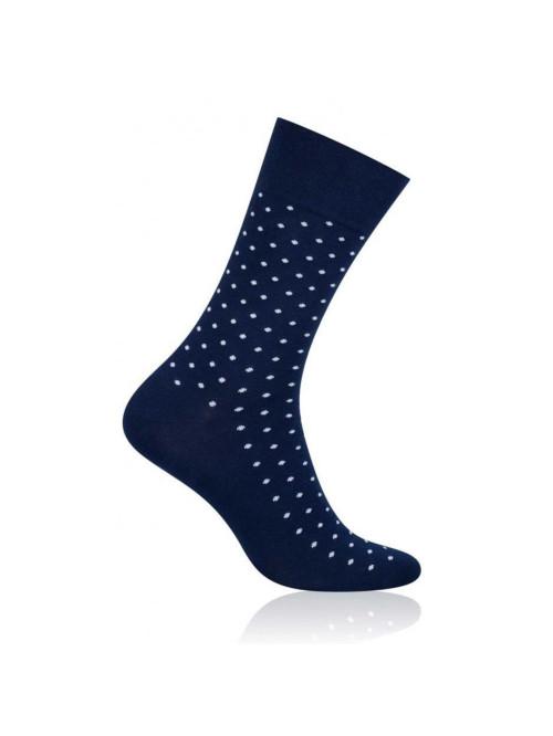Ponožky More Dot Tmavo modré