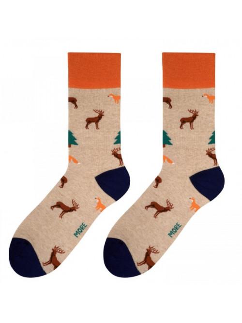 Ponožky Forest More Béžové