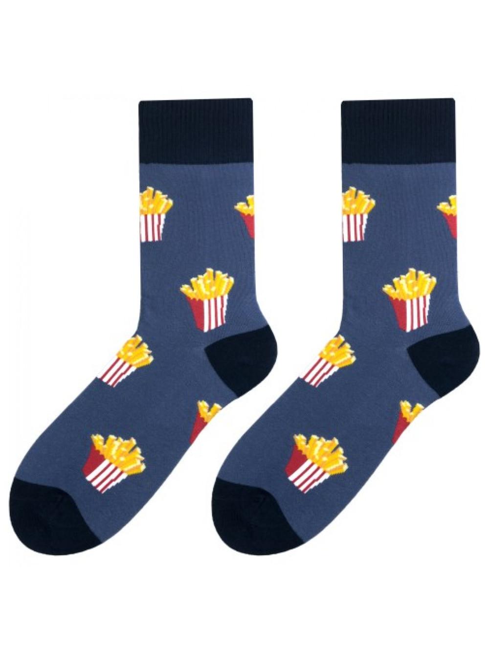 Ponožky More Fries Dark Blue