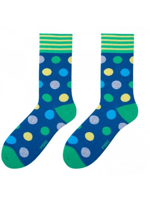 Ponožky Big Dot More modré