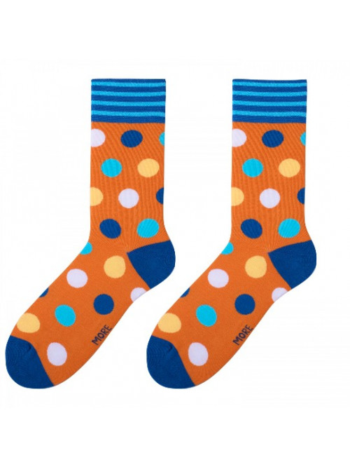 Ponožky Big Dot More oranžové