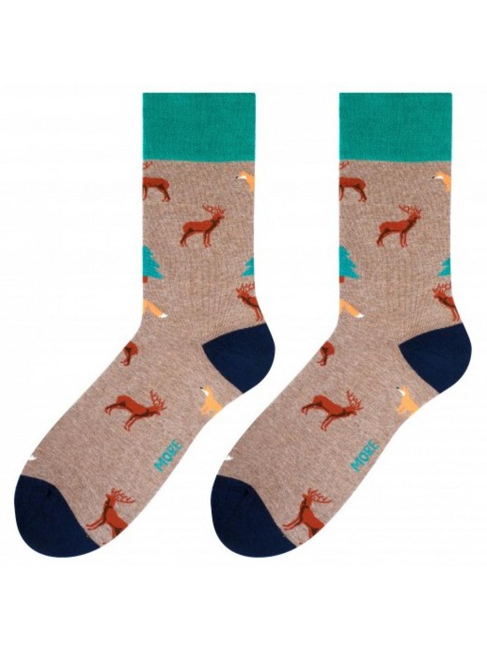 Ponožky Forest More hnedé
