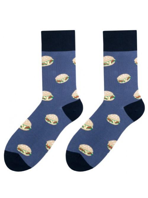 Ponožky More Burgers Blue