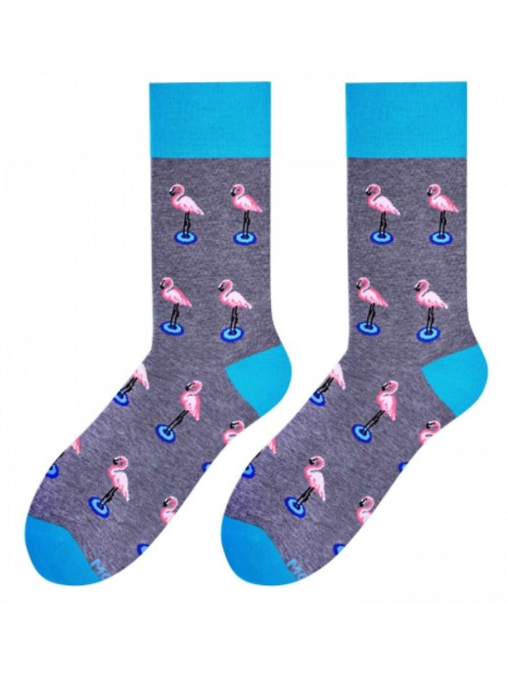Ponožky More Plameniak Man Dark Grey
