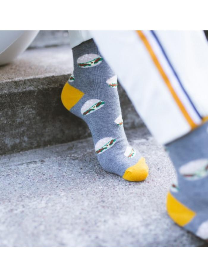 Ponožky More Burgers Grey