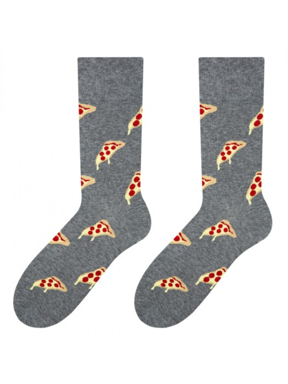 Ponožky More Pizza Grey
