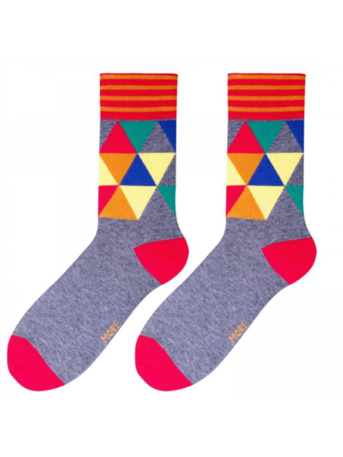 Ponožky Art More sivé