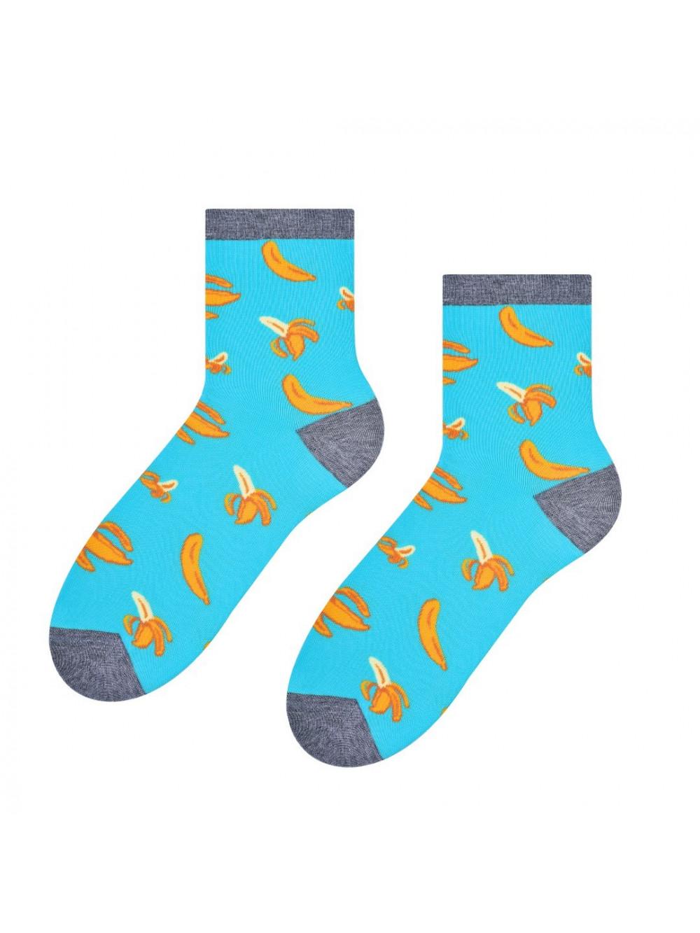 Ponožky Steven Banana Tyrkys
