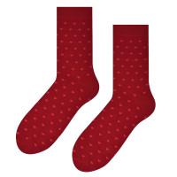 Ponožky Steven Mini Srdiečka červené