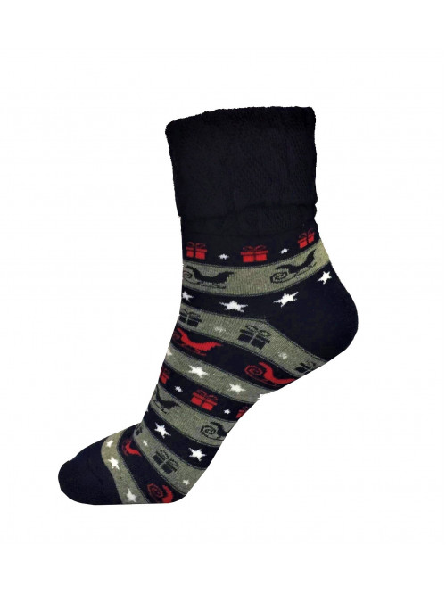 Vianočné ponožky Steven Gifts Blue