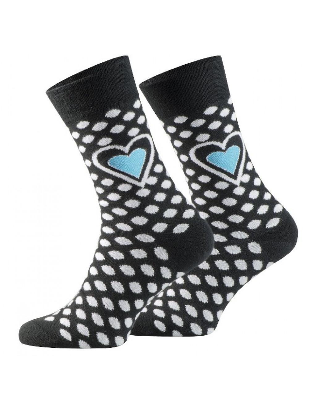 Ponožky Walker's Dot Blue Heart