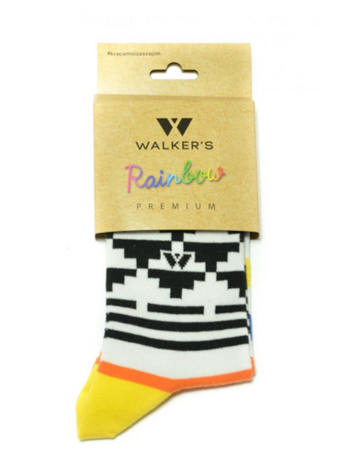 Ponožky Walker's Aztec žlté