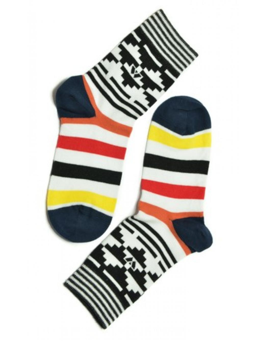 Ponožky Walker's Aztec čierne