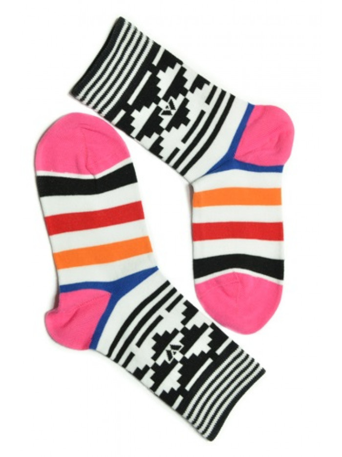 Ponožky Walker's Aztec ružové