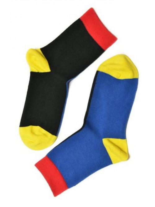 Ponožky Walker's Color Block čierno-modré