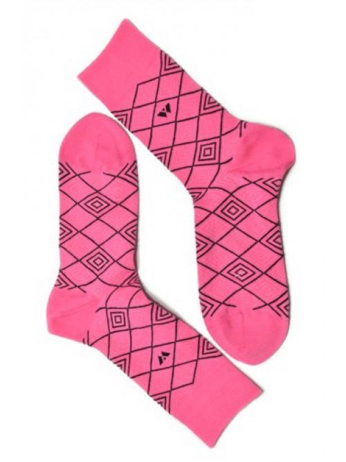 Ponožky Walker's ružový Diagram