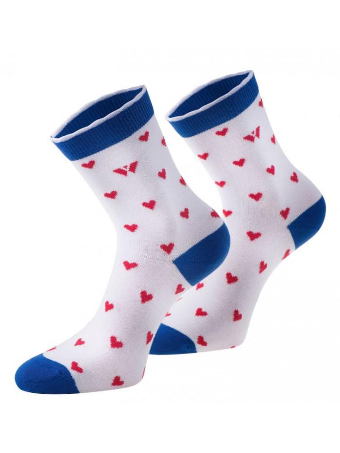 Ponožky Walker's Love bielo-modré
