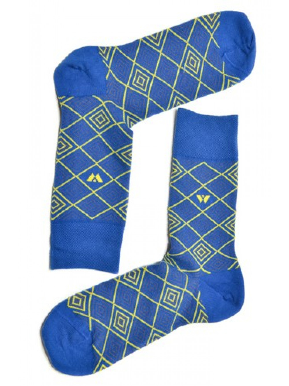 Ponožky Walker's modrý Diagram