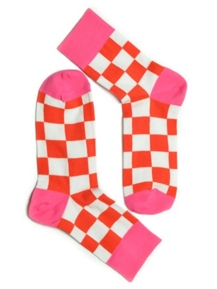 Ponožky Tatrasvit Saso oranžovo-biele
