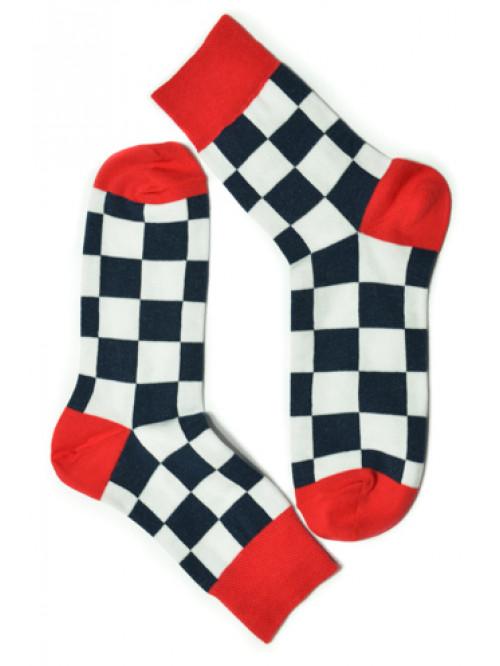 Ponožky Tatrasvit Saso čierno-biele