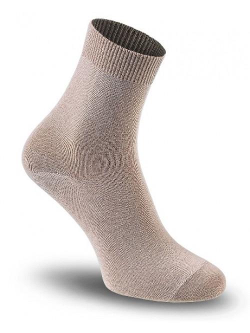 Dámske ponožky Tatrasvit Vikta so striebrom béžové