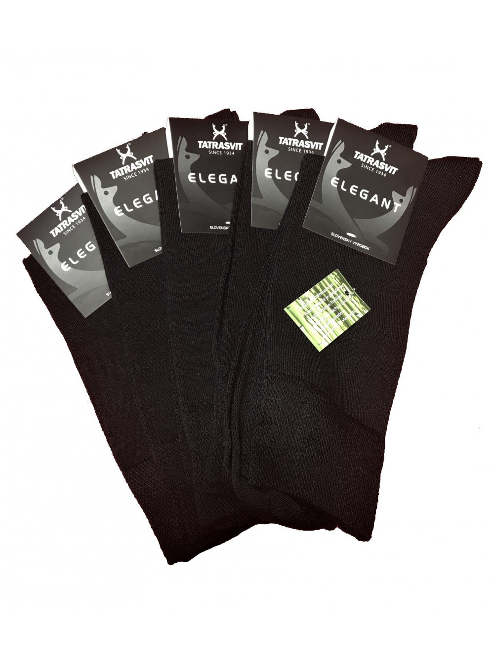 Ponožky Tatrasvit Bambus Black 5 Pack