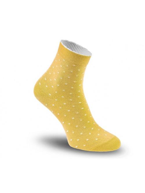 Ponožky Tatrasvit Volsa mini dots žlté