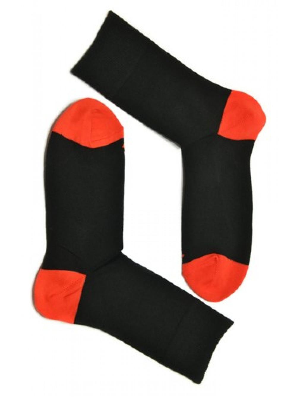 Ponožky Tatrasvit Abez čierno - červené