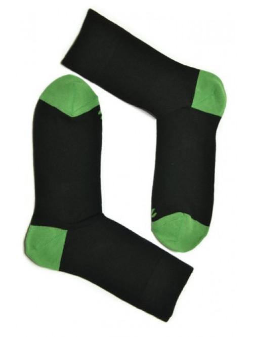 Ponožky Tatrasvit Abez čierne - tmavo zelené