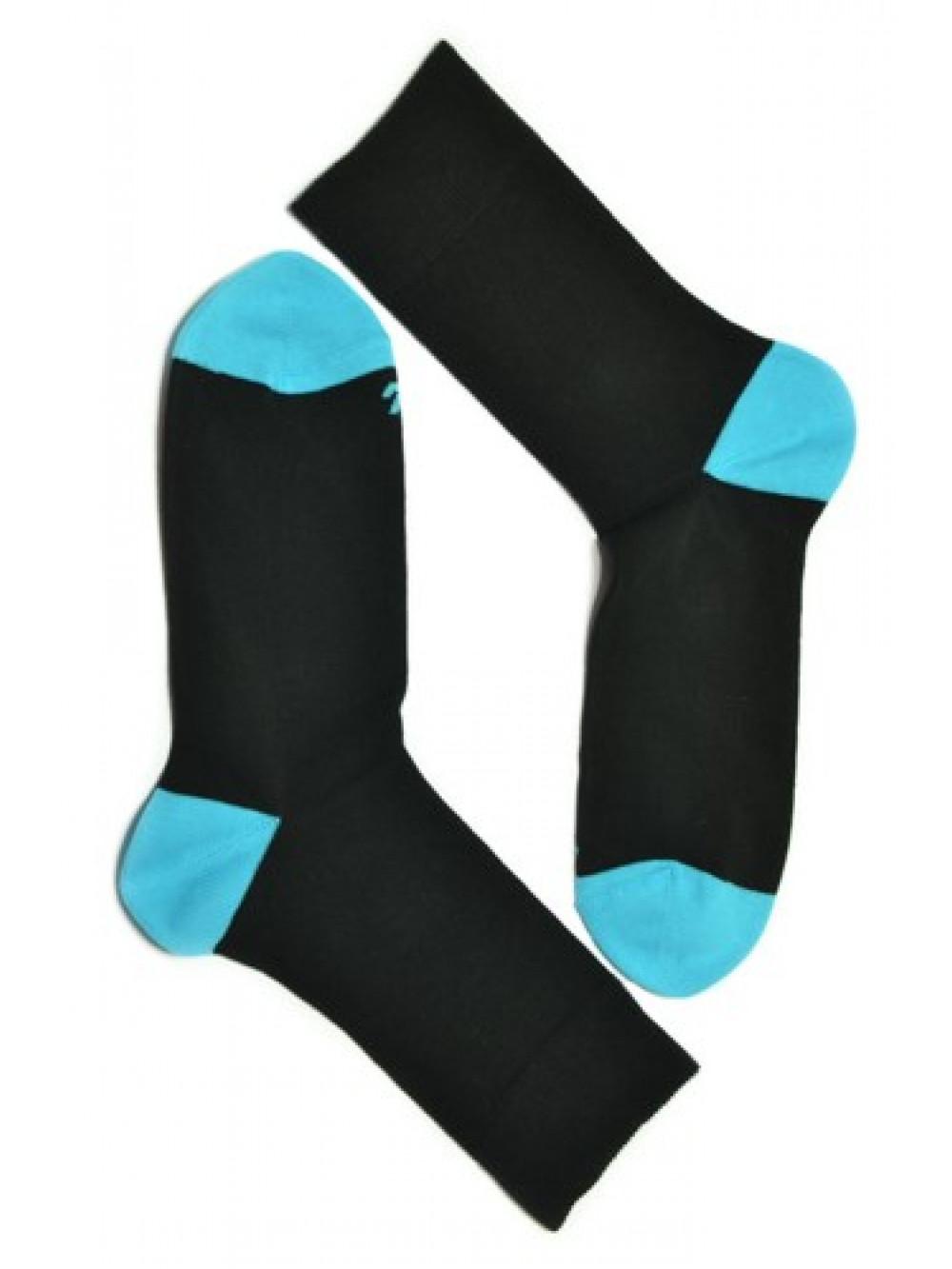Ponožky Tatrasvit Abez čierno - tyrkysové