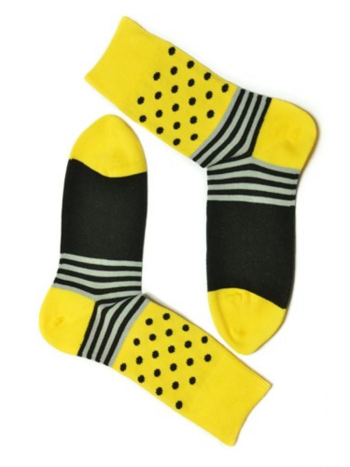 Ponožky Gugo Tatrasvit žlté