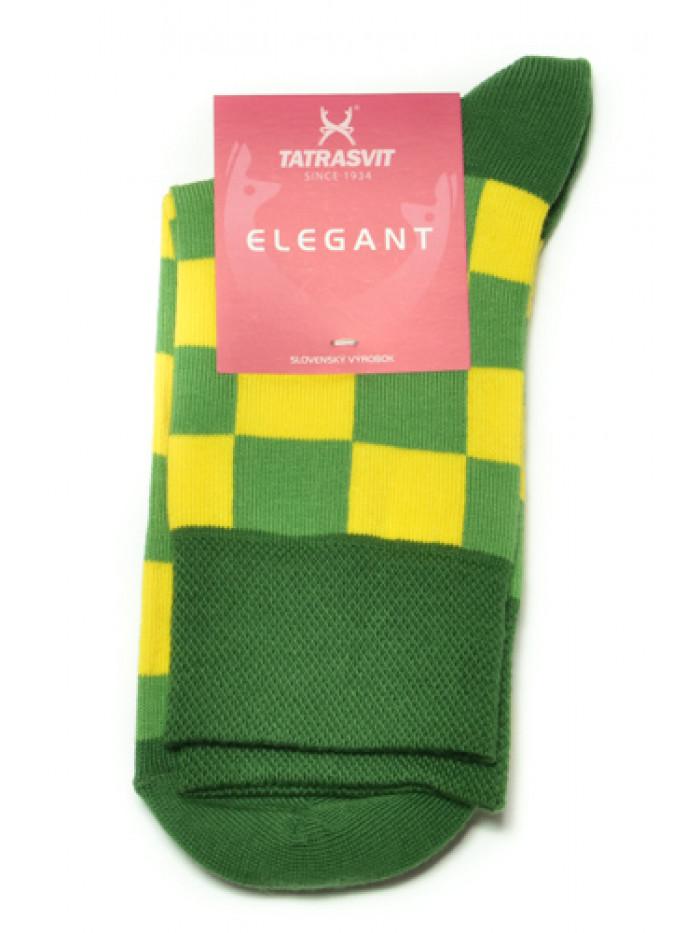 Ponožky Tatrasvit Saso žlto-zelené