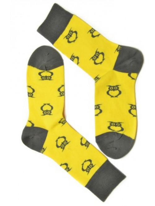 Ponožky Tatrasvit Sovan žlté