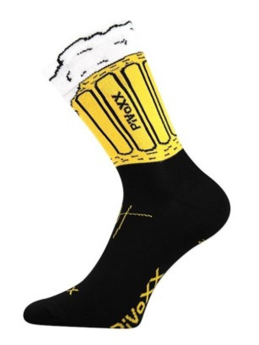 Ponožky PiVoXX Black