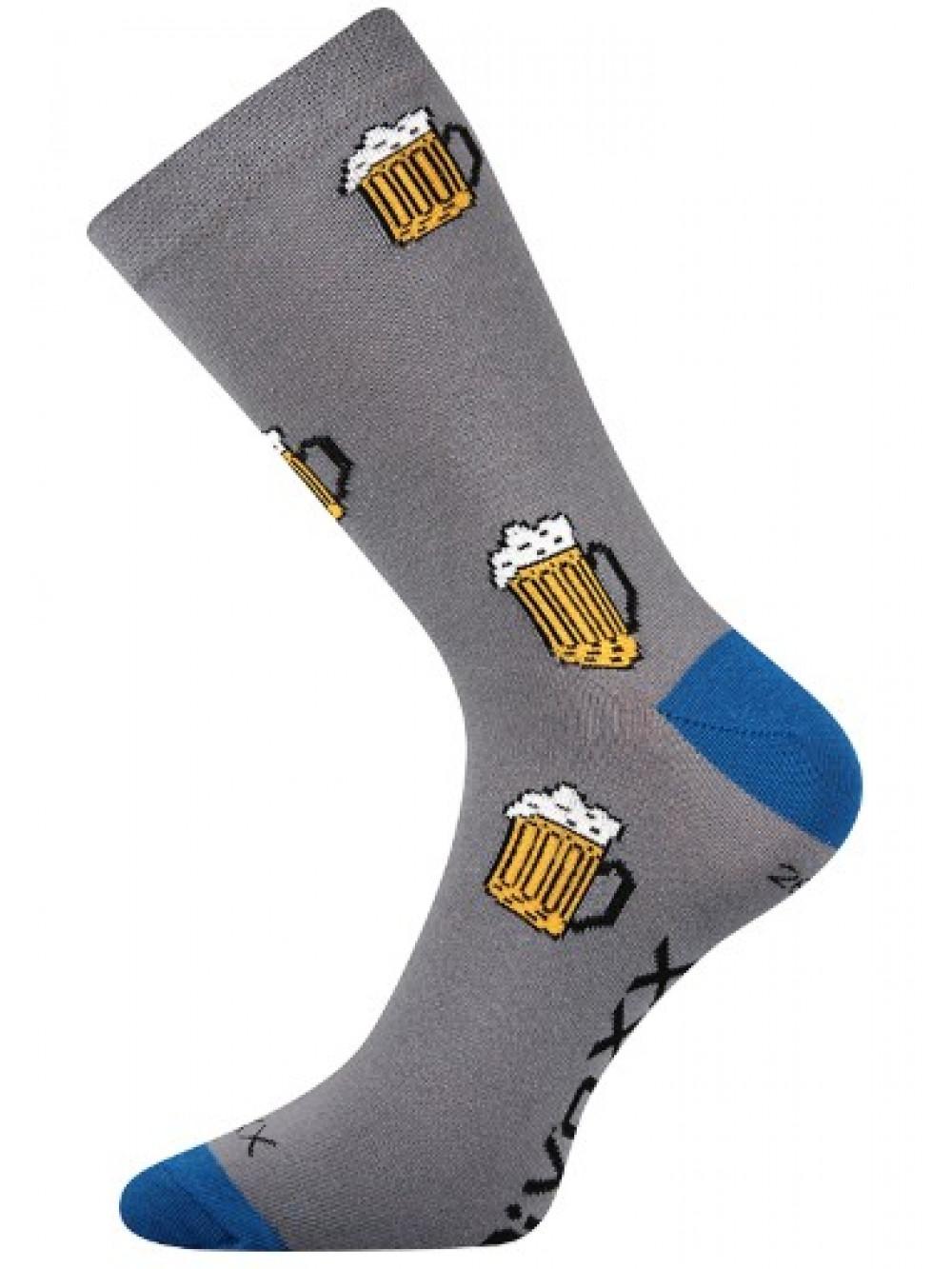 Ponožky PiVoXX Dark Grey