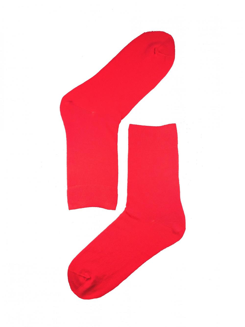 Červené ponožky Wola Red