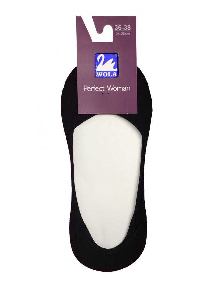 Ponožky Wola mokasíny čierne
