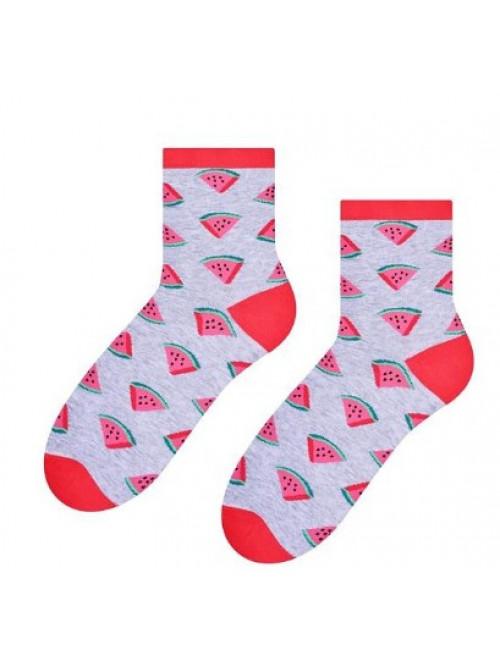 Ponožky Steven Watermelon