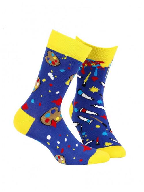 Ponožky Wola Color Art