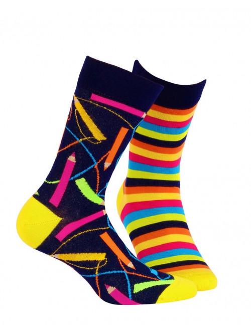 Ponožky Wola Funky Color