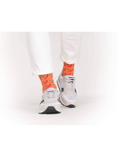 Ponožky Wola Chilli Oranžové