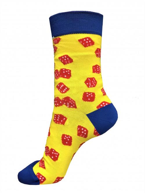 Ponožky Wola Dice Yellow