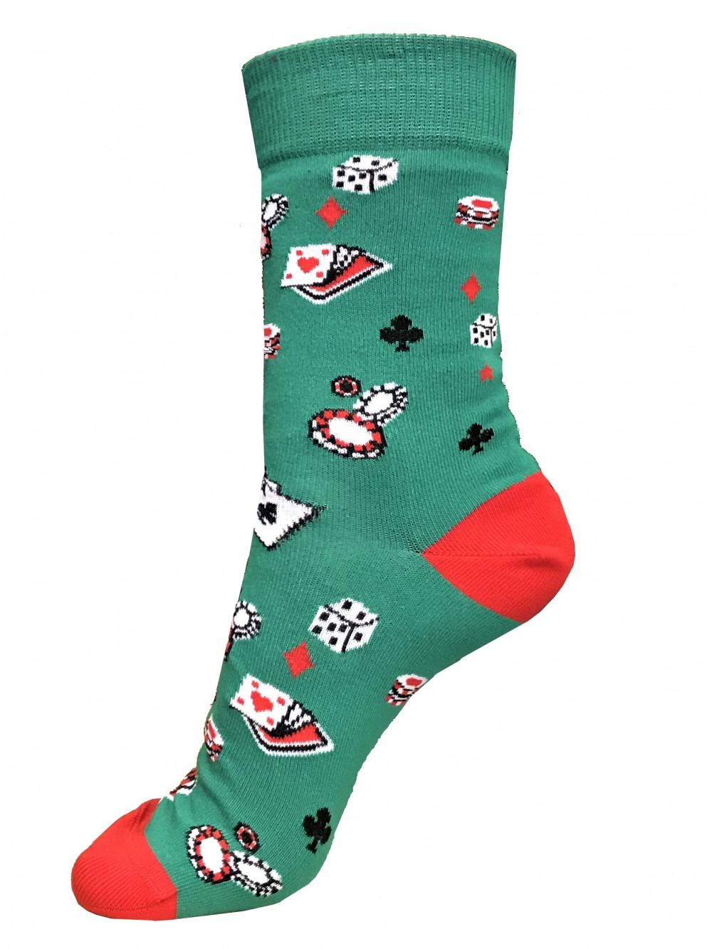 Ponožky Poker Green Wola