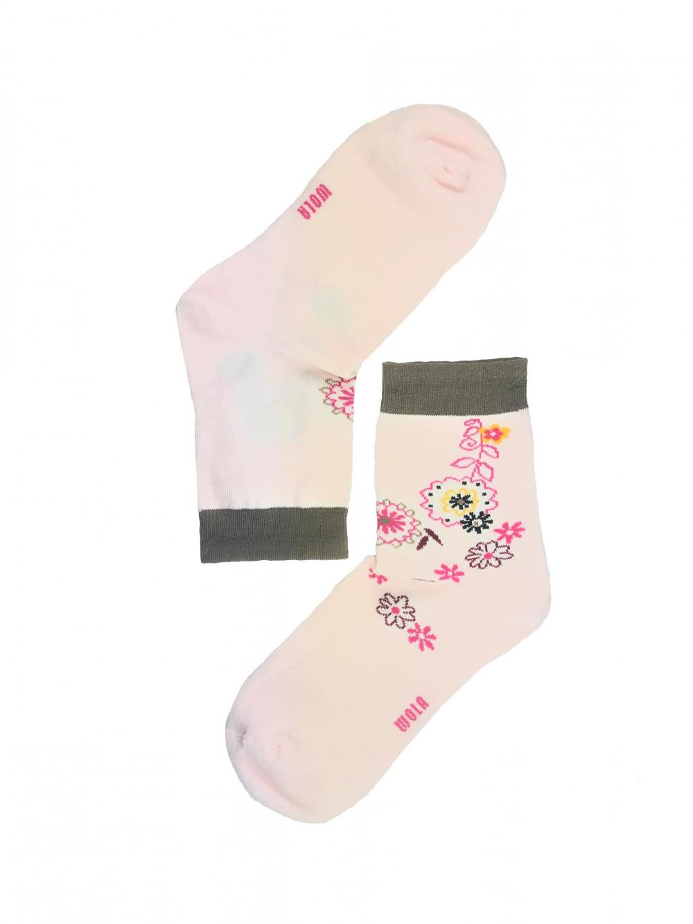 Ponožky Wola Pink Flowers