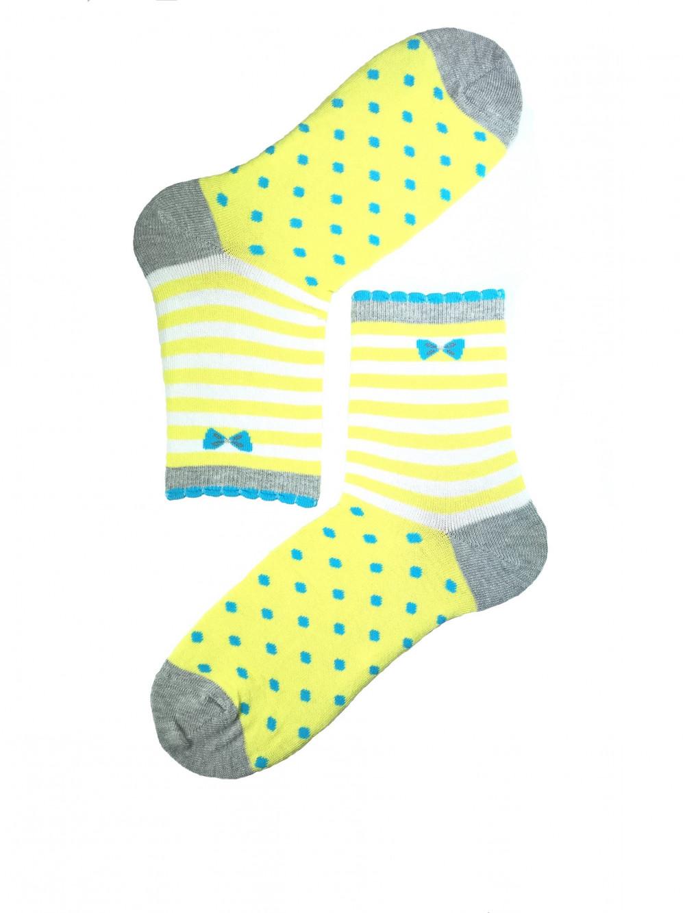 Ponožky Wola Perfect Woman žlté