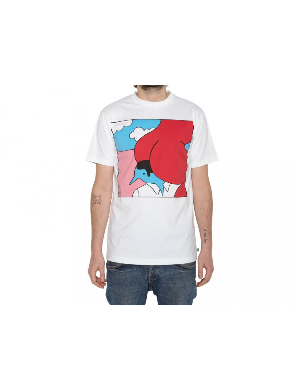 Tričko Rockwell Ass & Shoulders