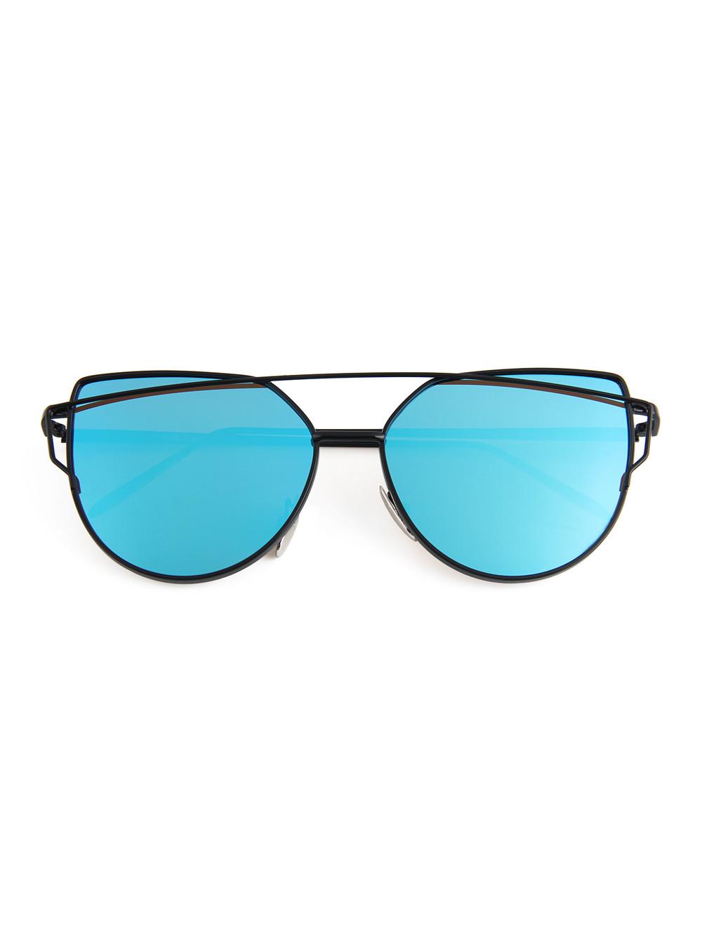 ... Slnečné okuliare Crossbar Cat Eyes Dark Blue ... 7b2c1e02df8