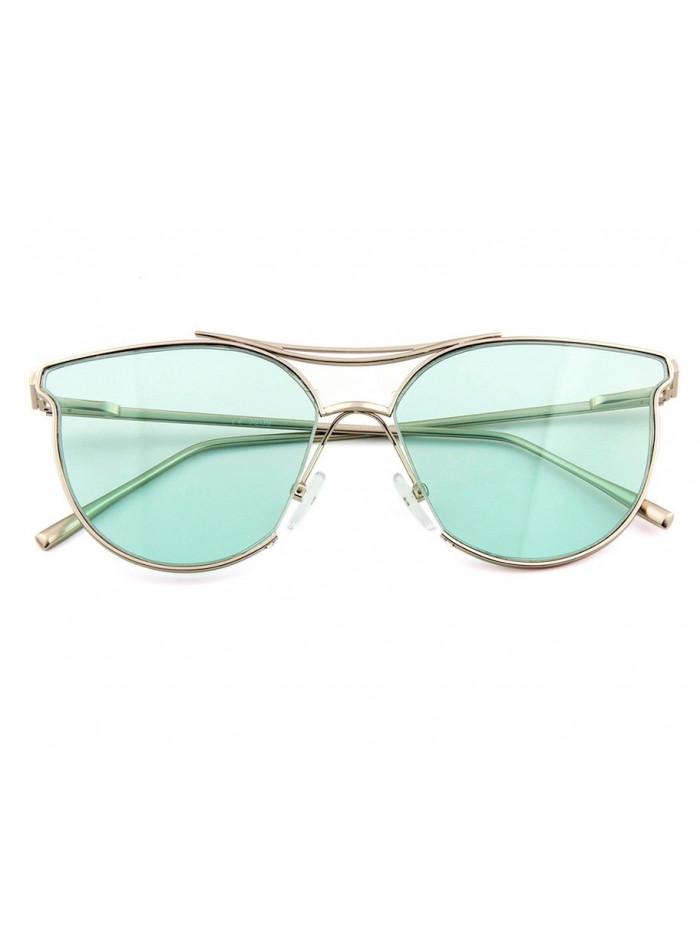 Slnečné okuliare Aviator Lady Green
