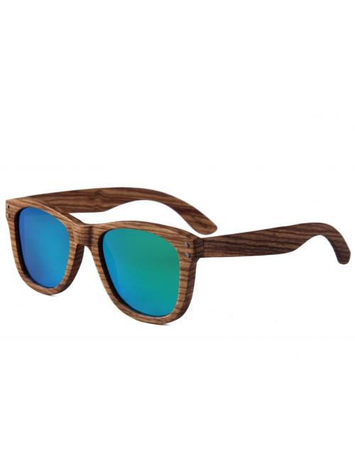 Drevené slnečné okuliare Simple Green